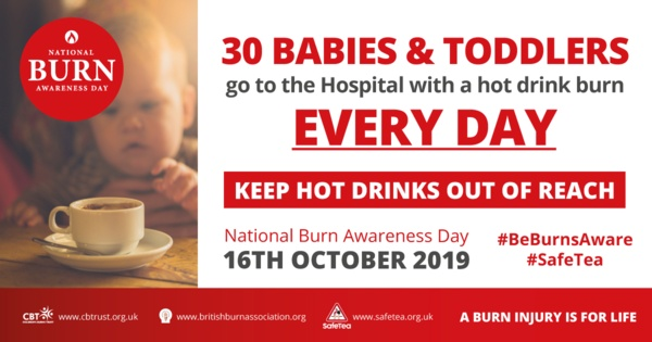 burns awareness day banner