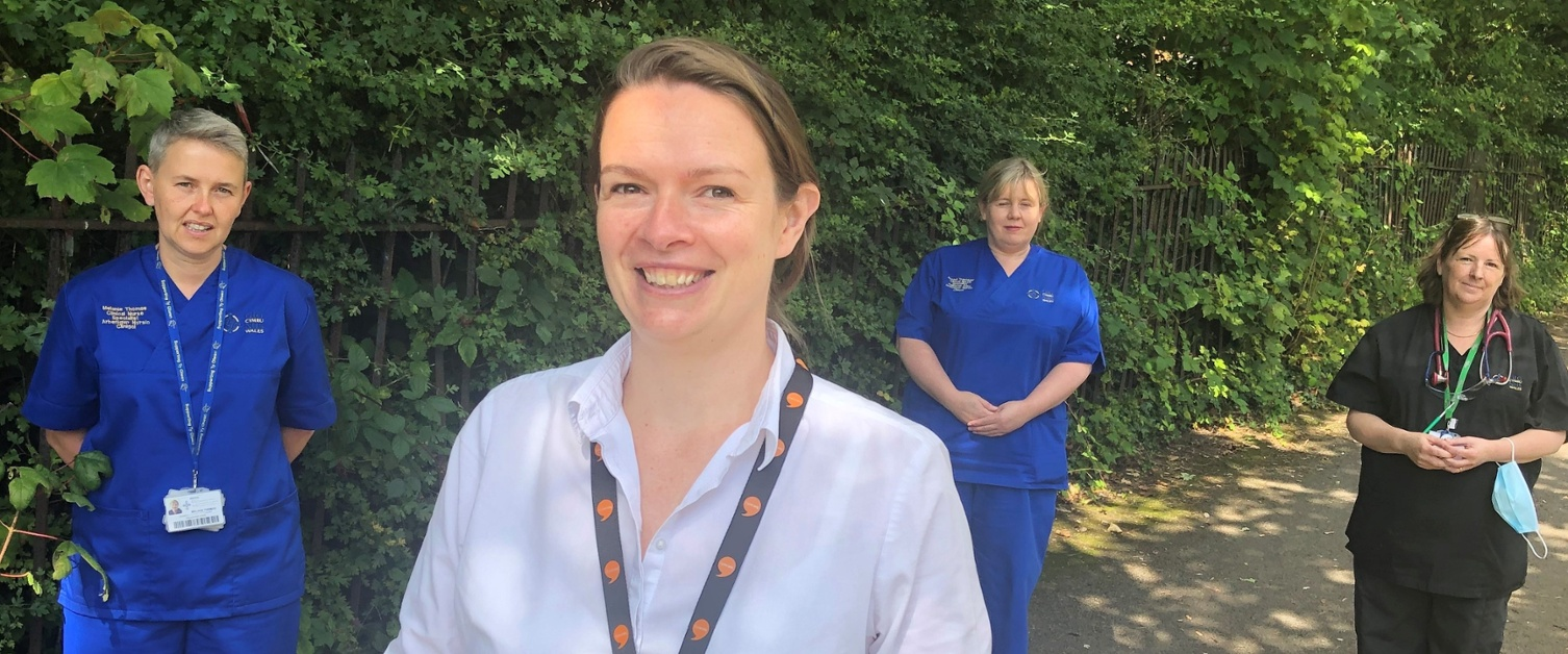 End of Life Care team