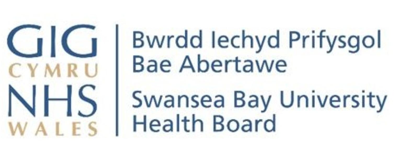 An image of the Swansea Bay UHB logos
