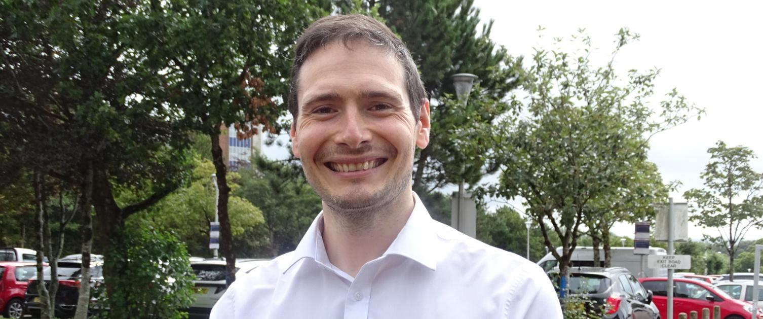 Picture of Philip Jones of Specsavers in Swansea
