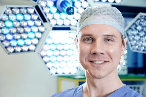 Plastic surgery registrar Richard Thomson