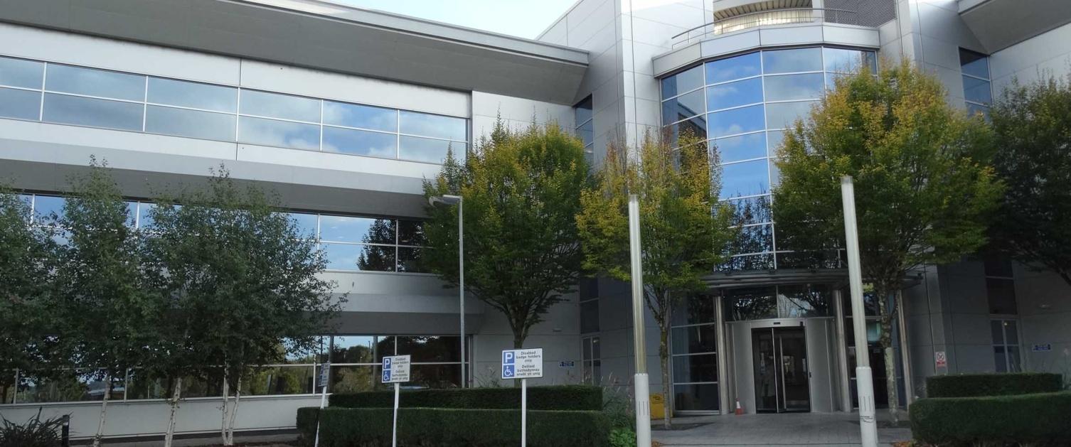 The exterior of Swansea Bay University Health Board head office in Baglan, Port Talbot.