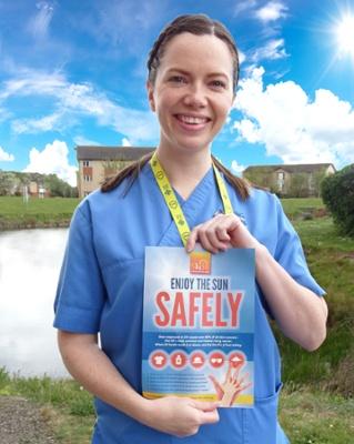 Hannah Brew of Swansea Bay UHB's Dermatology Department