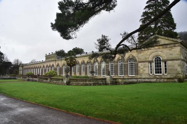 Exterior image of Margam Orangery.