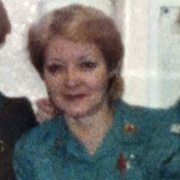 An old photo of Hazel Eastman from the late 1970s