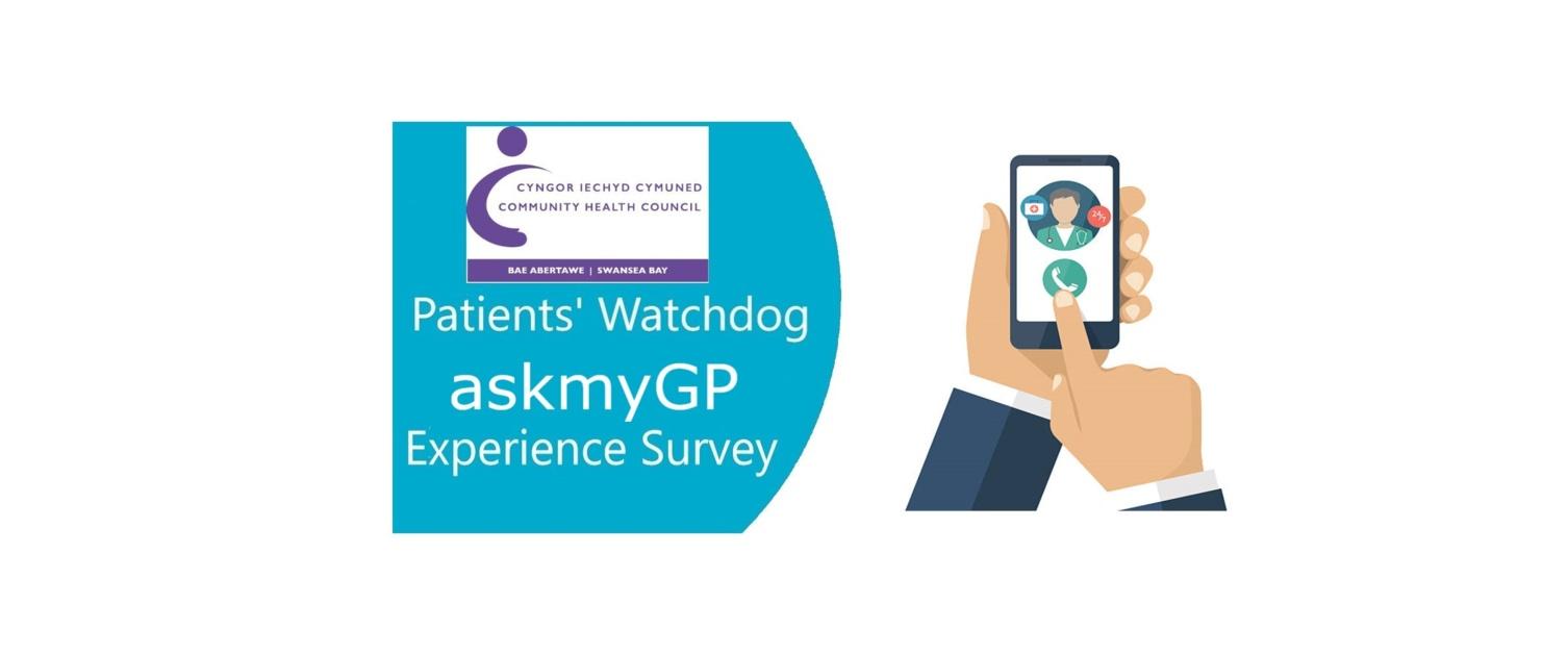 Logo for AskmyGP survey