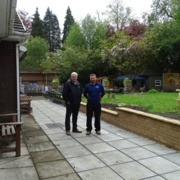 Paul Murray, vice chairman of Ty Olwen Trust, and Mark Bamford