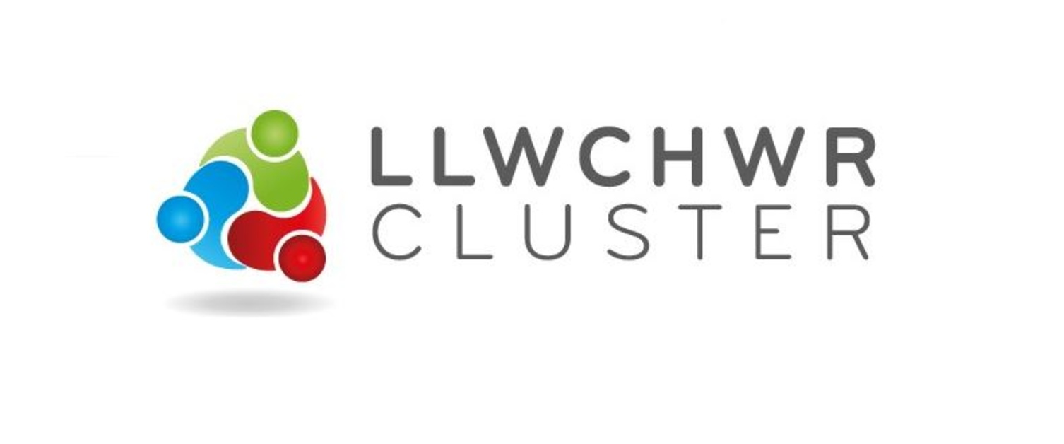 The Cluster logo for Llwchwr