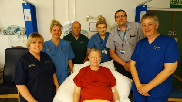 Pressure ulcer prevention team nominated for award