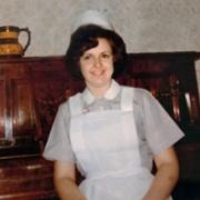 Christine Fitzgerald in uniform in 1970