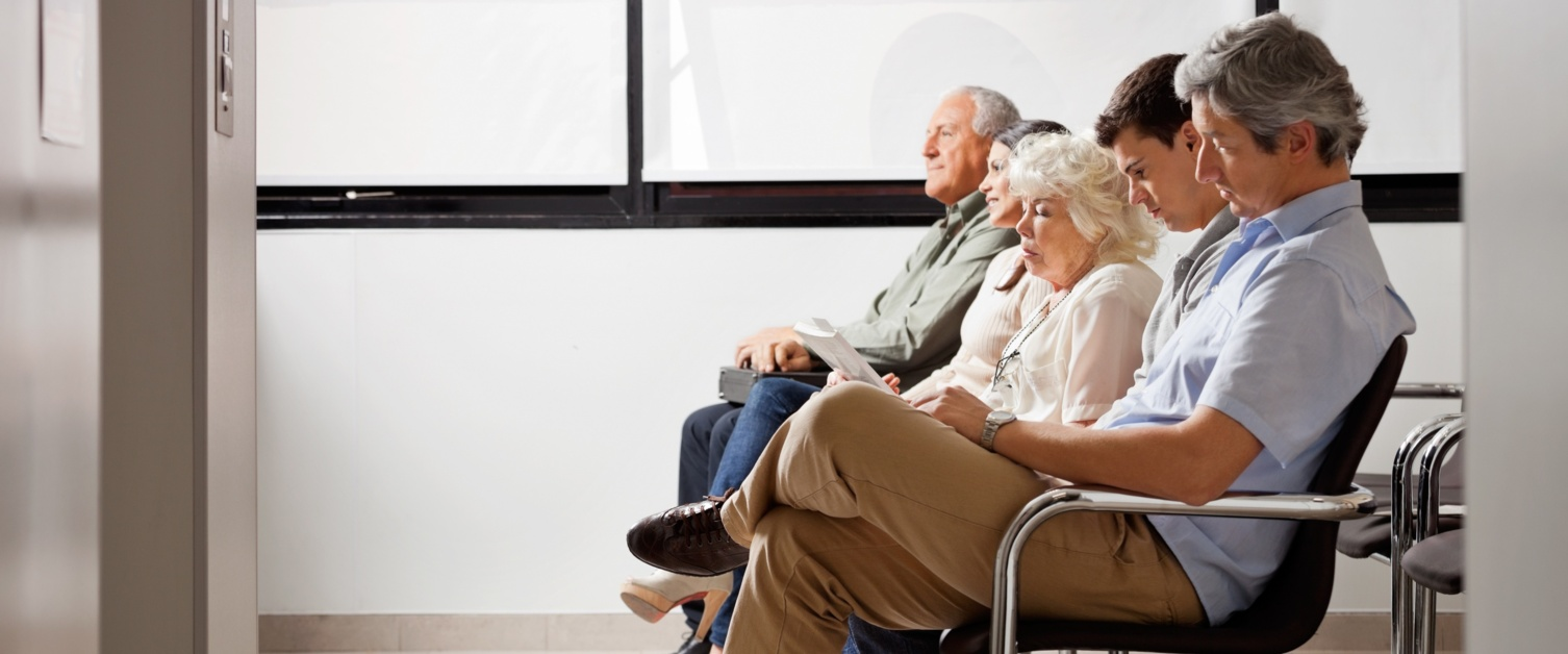 a picture of a waiting room