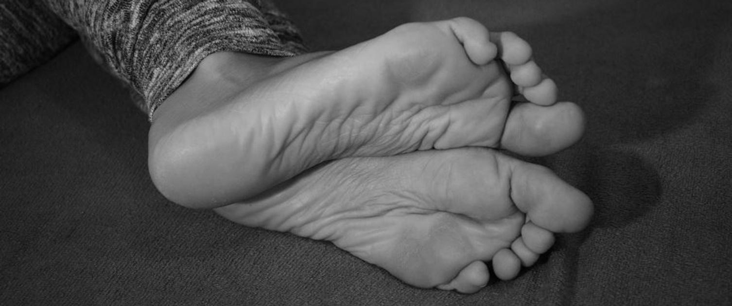 An image of feet