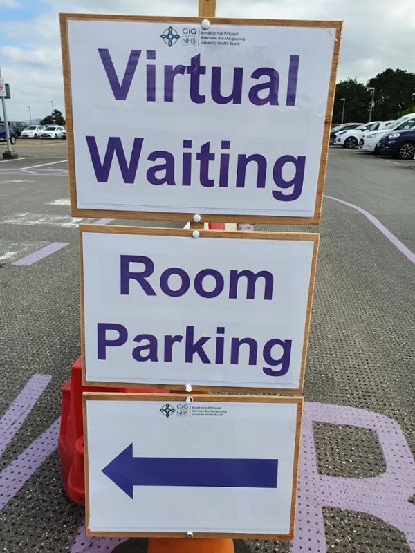 Virtual waiting Room 2