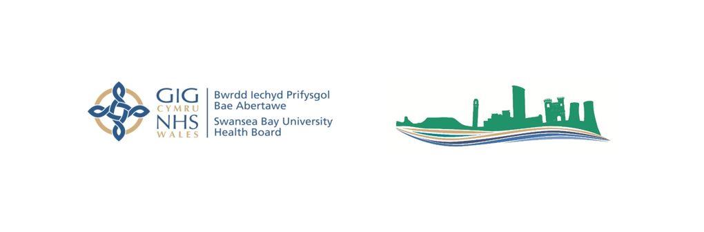 An image of Swansea Bay UHB logos.