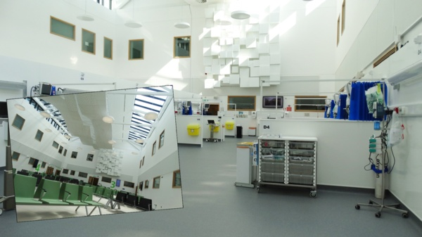 New critical care area