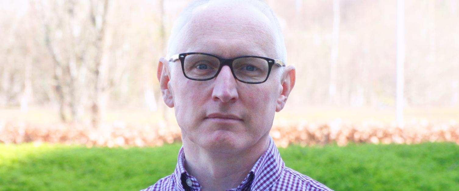 Image shows Interim Deputy Medical Director Aidan Byrne