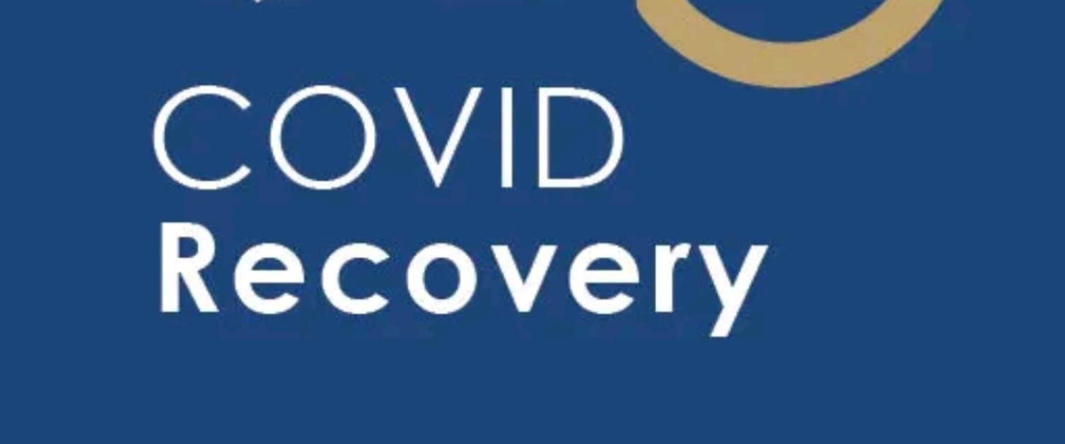 A logo for the NHS Covid recovery app