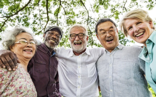A group of happy people