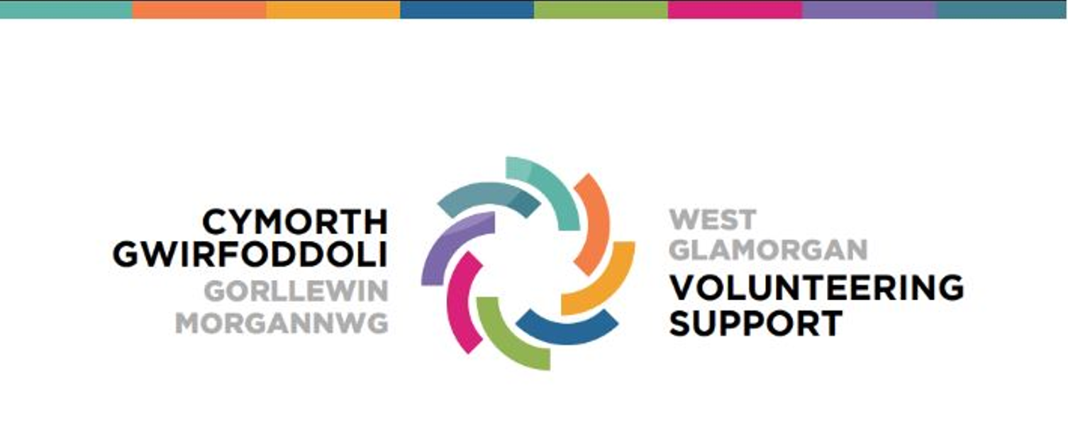 The logo for West Glamorgan Volunteering Support
