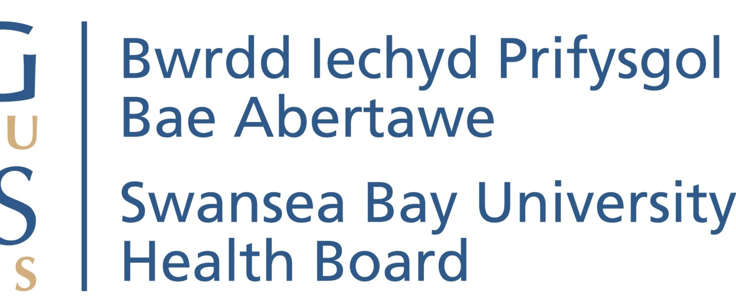 The logo for Swansea Bay University Health Board