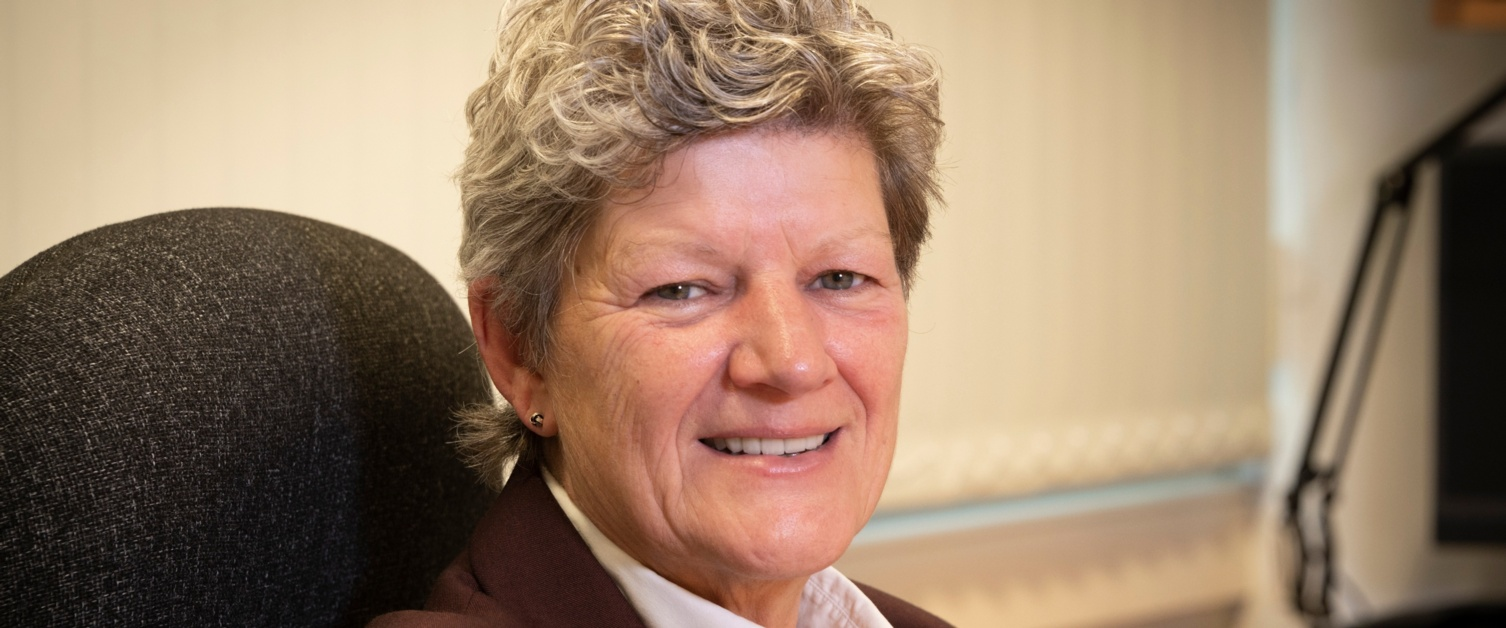 An image of Tracy Myhill, CEO