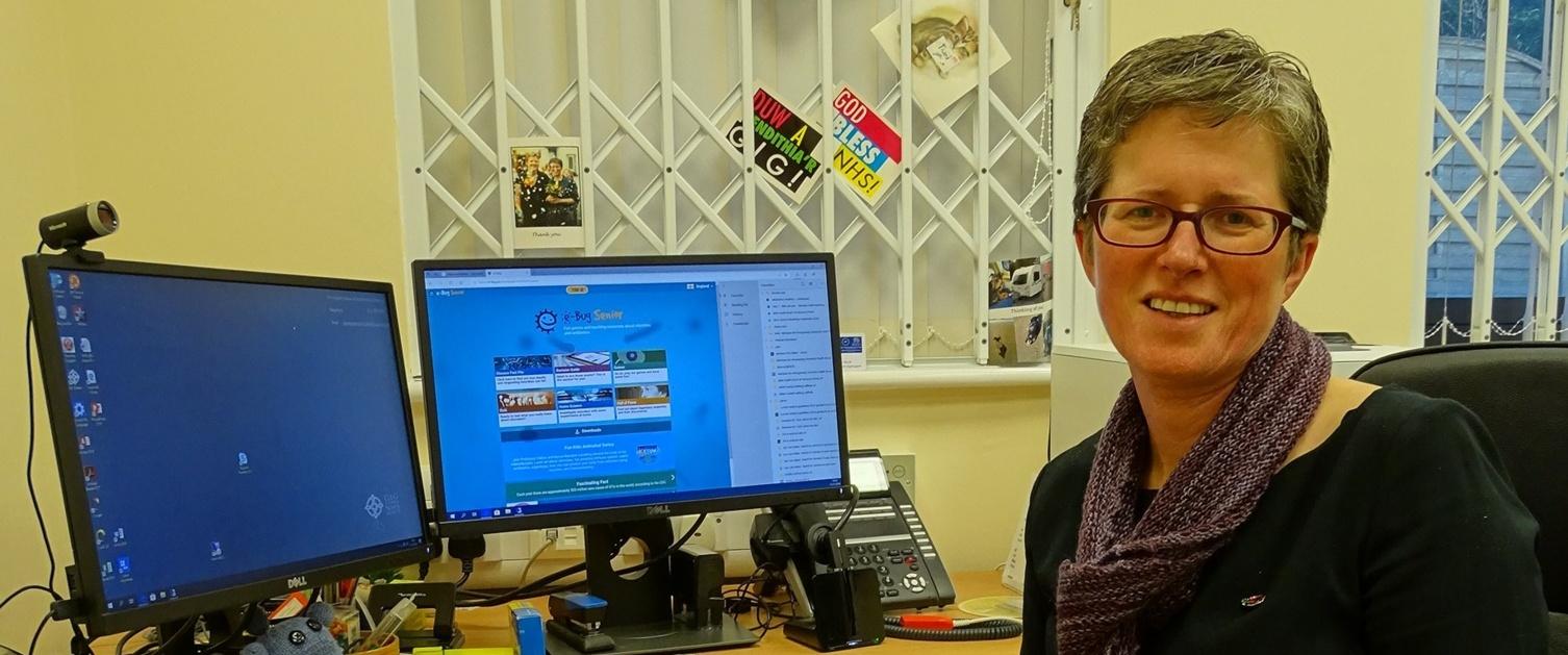 Dr Rebecca Jones, GP at Dulais Valley Primary Care Centre.