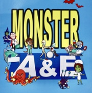 An image of the cover of the Monster A & E book