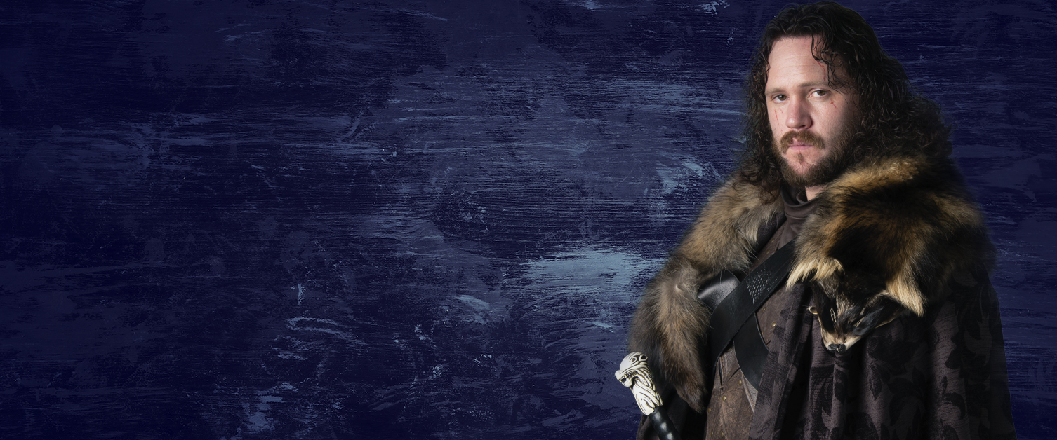 Image of lookalike of Game of Thrones character Jon Snow