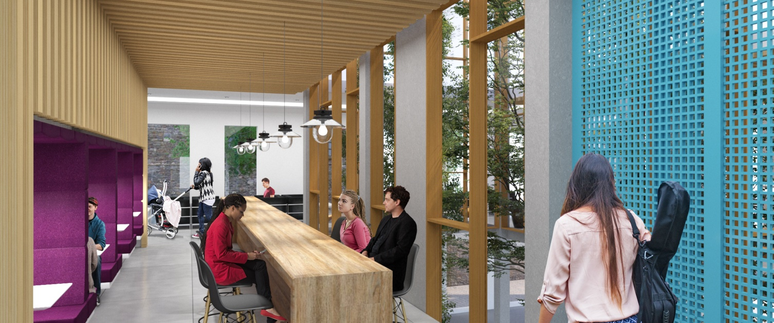 an illustration of the wellness centre