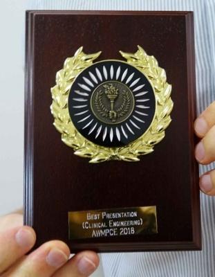 Jonathan's award