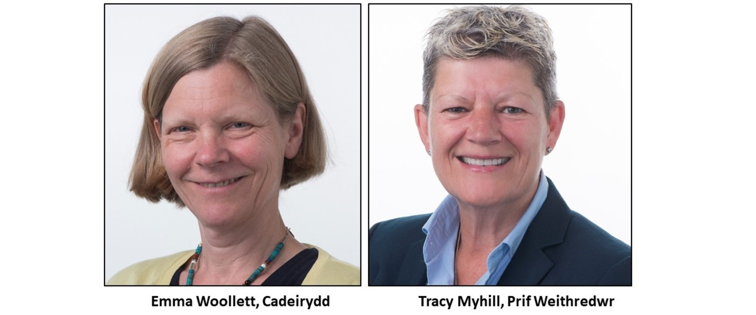 Emma Woollett, Tracy Myhill