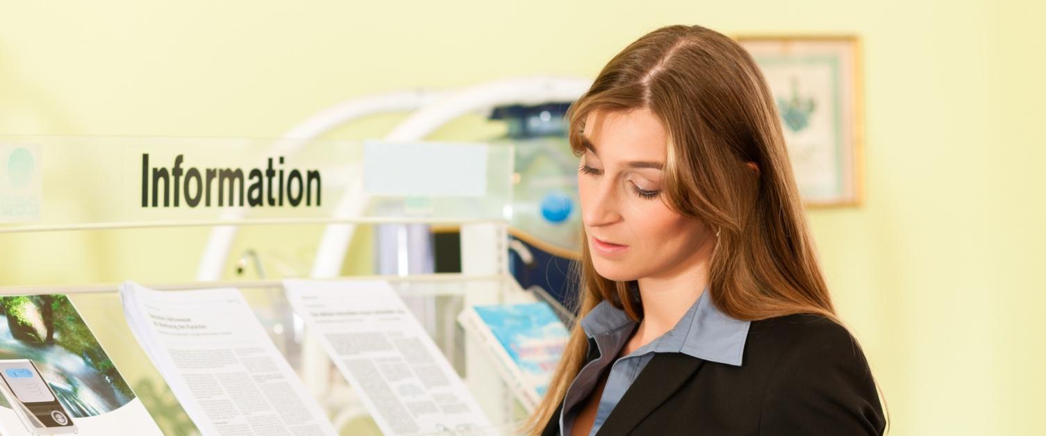 leaflets information adobe stock