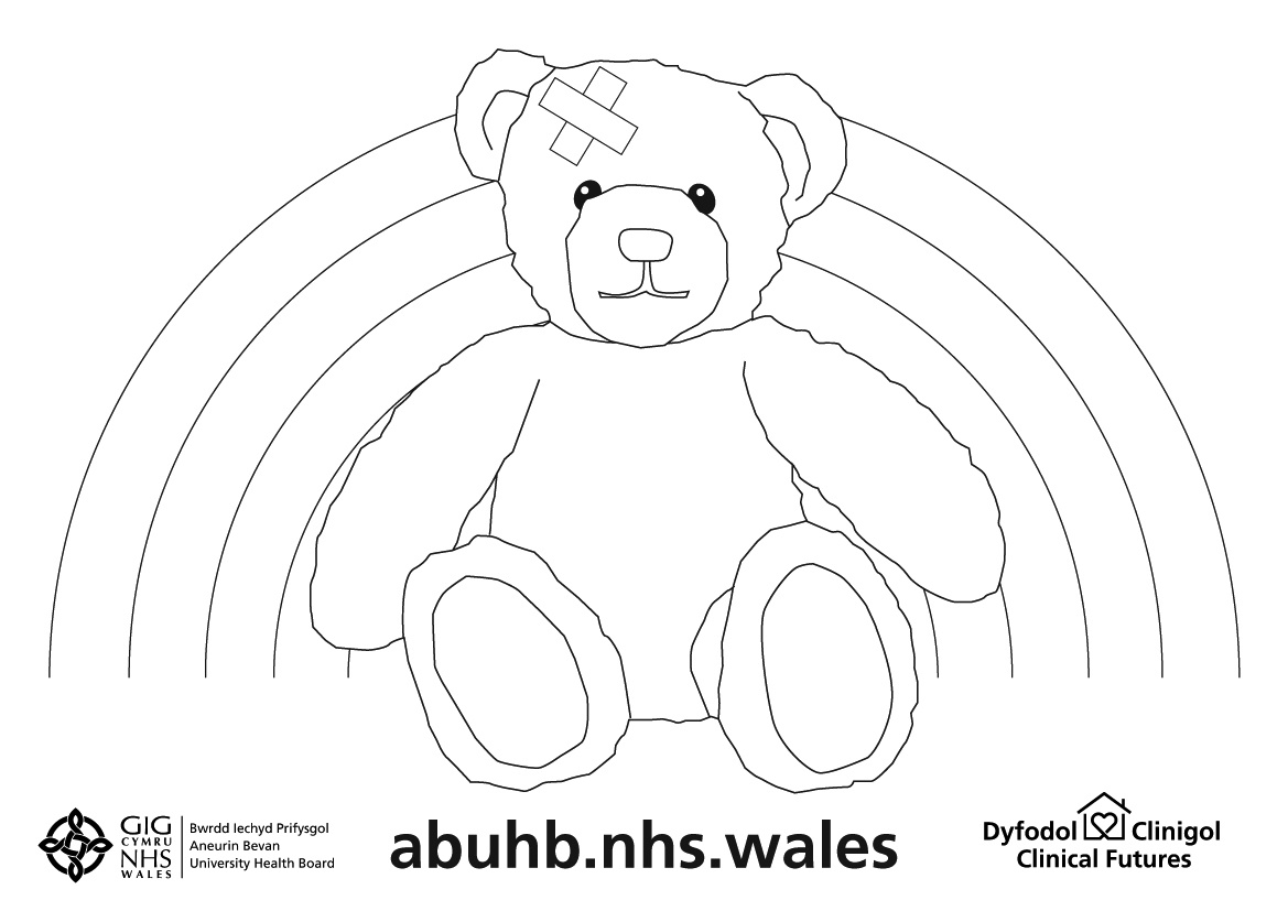 Clinical Futures Bear Colouring Sheet- JPEG