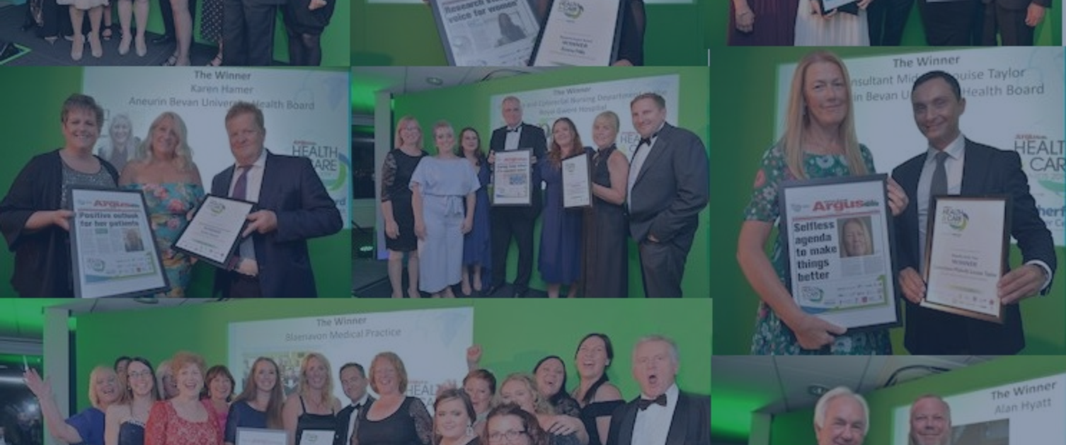 South Wales Argus Health & Care Awards 2019 Winners