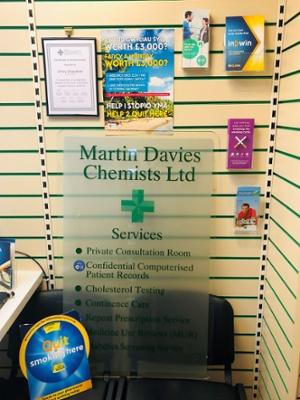 Martin Davies Chemists