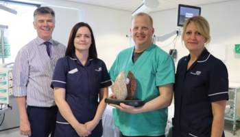 Organ donation team recognised with special award