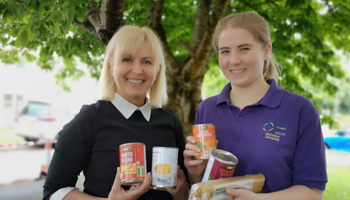 Dietitians work with North Wales food banks