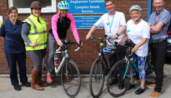 Learning disability staff to take on 300 mile charity challenge