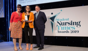 Bangor University student nurse scoops national award