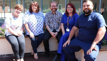 Wrexham mental health team in running for top health award