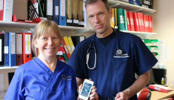 Mobile app helping chemo patients stay safe