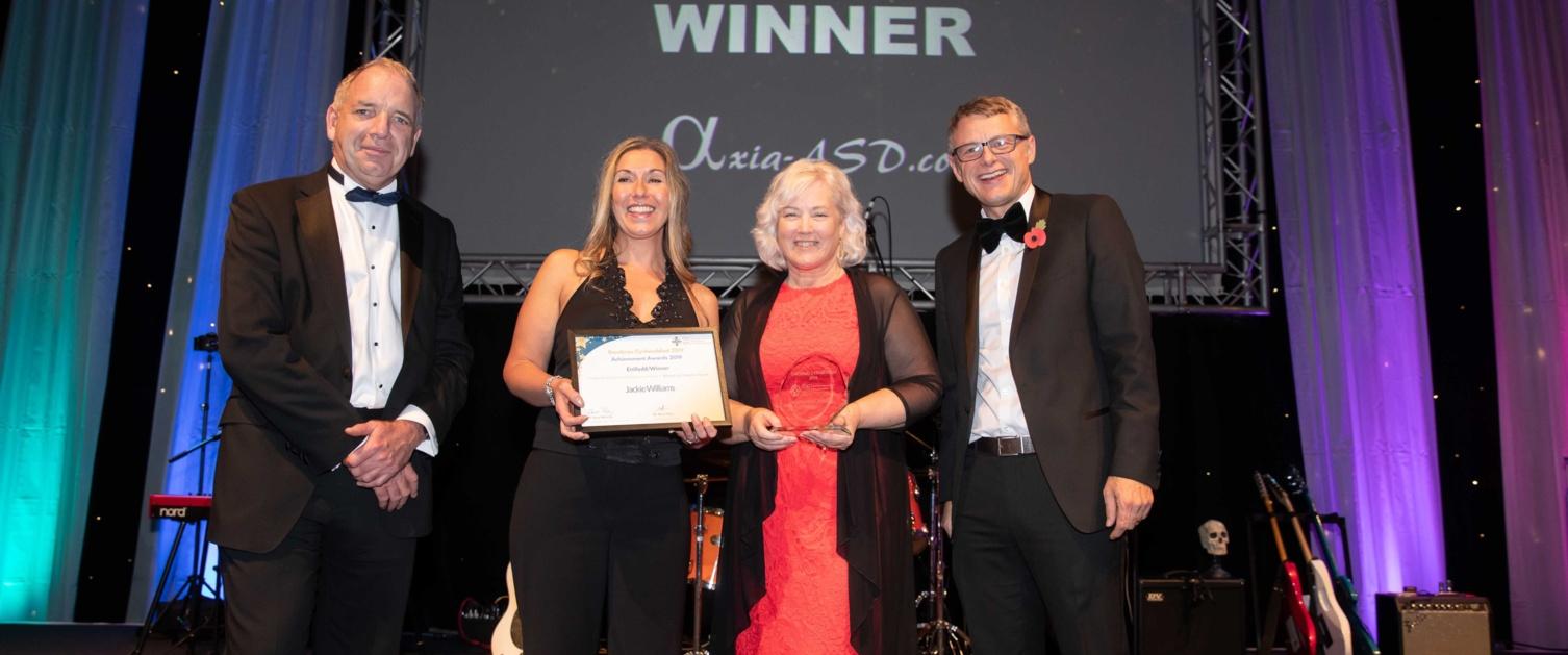 Advancing Equality Award Jackie Williams