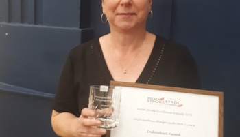 Inspirational nurse recognised for dedication to stroke services