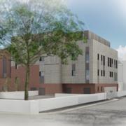 North Denbighshire Community Hospital CGI