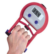Hand grip strength machine