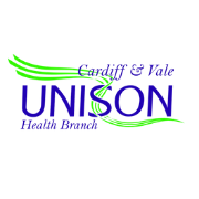 Unison Cardiff and the Vale branch logo
