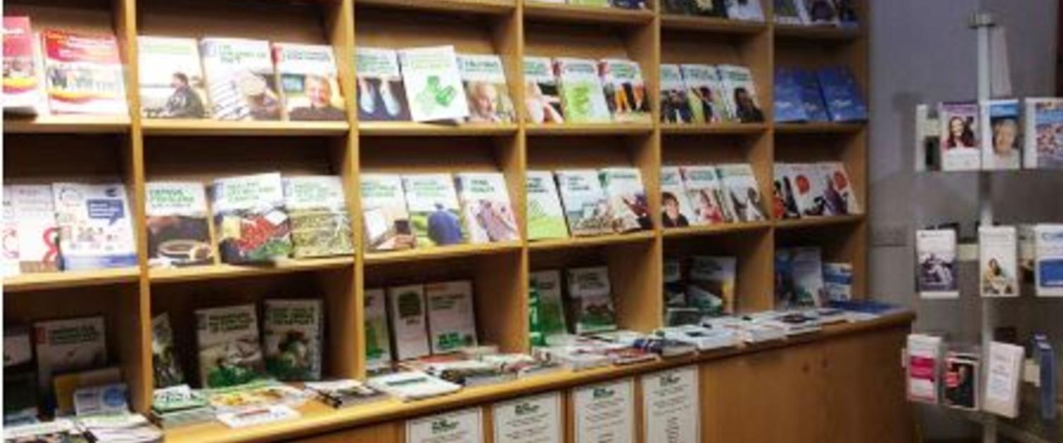 Inside UHW Information Centre