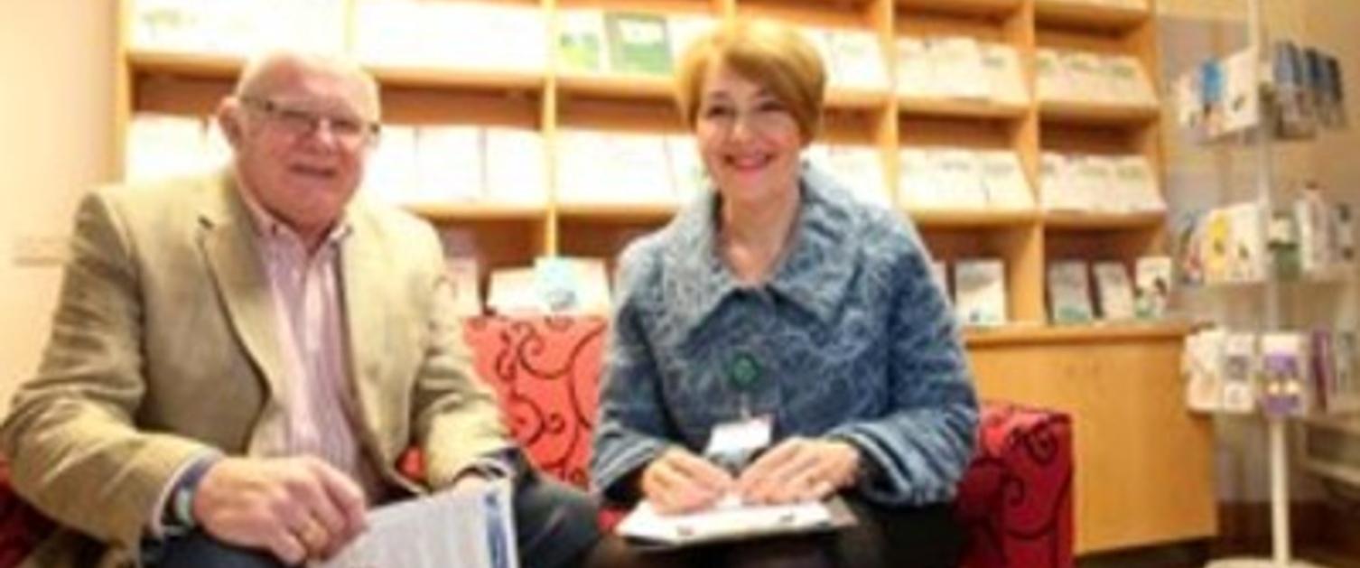 John Knight and Sarah Llewellyn