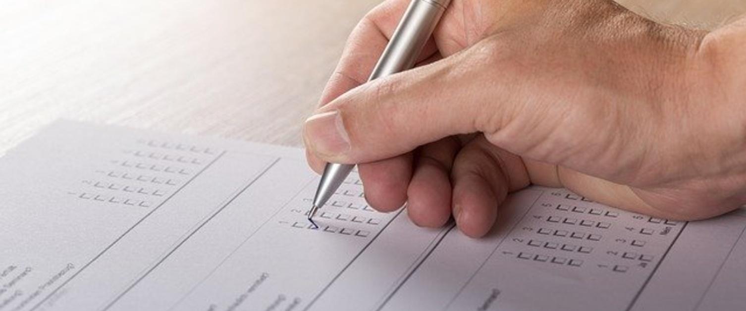 Survey form filling