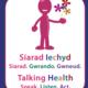 Large talking health logo